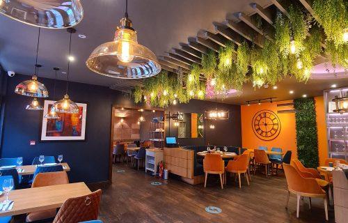 Inside Izgara Restaurant Finchley