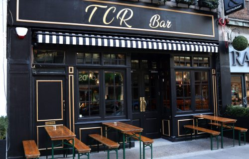 TCR Bar. Turkish Food in London